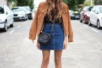 18 Suede Jacket Outfits For Stylish Ladies16