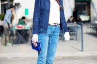 18 Suede Jacket Outfits For Stylish Ladies9