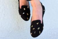 DIY Jeffrey Campbell Inspired Alphabet Shoes