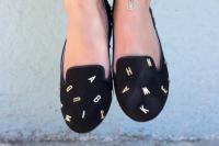 DIY Jeffrey Campbell Inspired Alphabet Shoes8