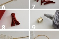 DIY Wire Love Bracelet With Tassel4
