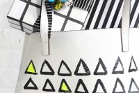 Funny DIY Leather Painted Tote3