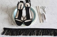 Stylish DIY Fringe Heels2