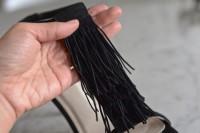 Stylish DIY Fringe Heels6