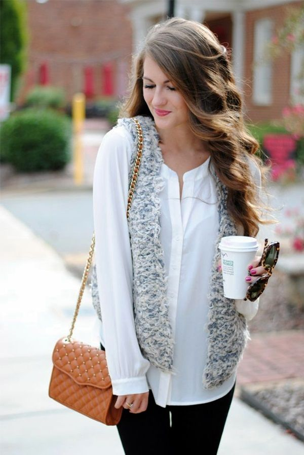 Picture Of chic layered outfits for work  16