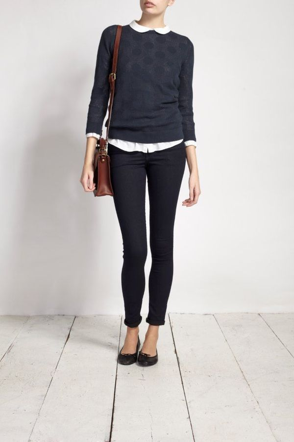Picture Of chic layered outfits for work  19