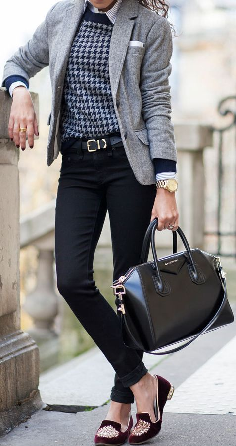 Picture Of chic layered outfits for work  20