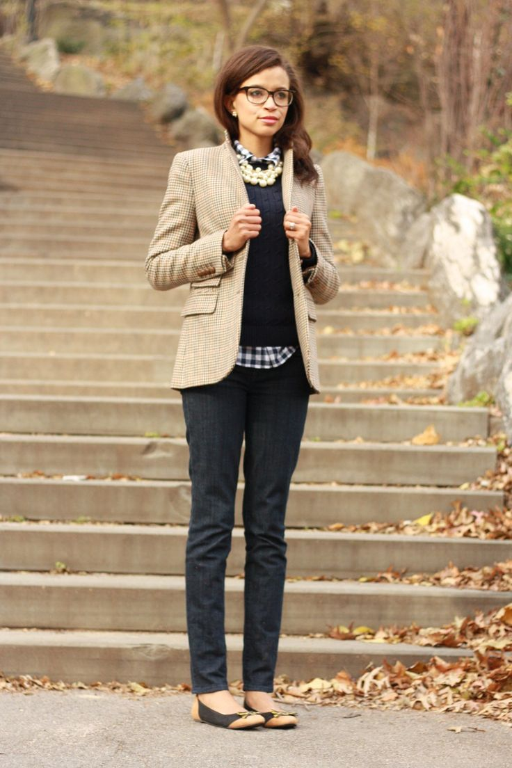 Picture Of chic layered outfits for work 4