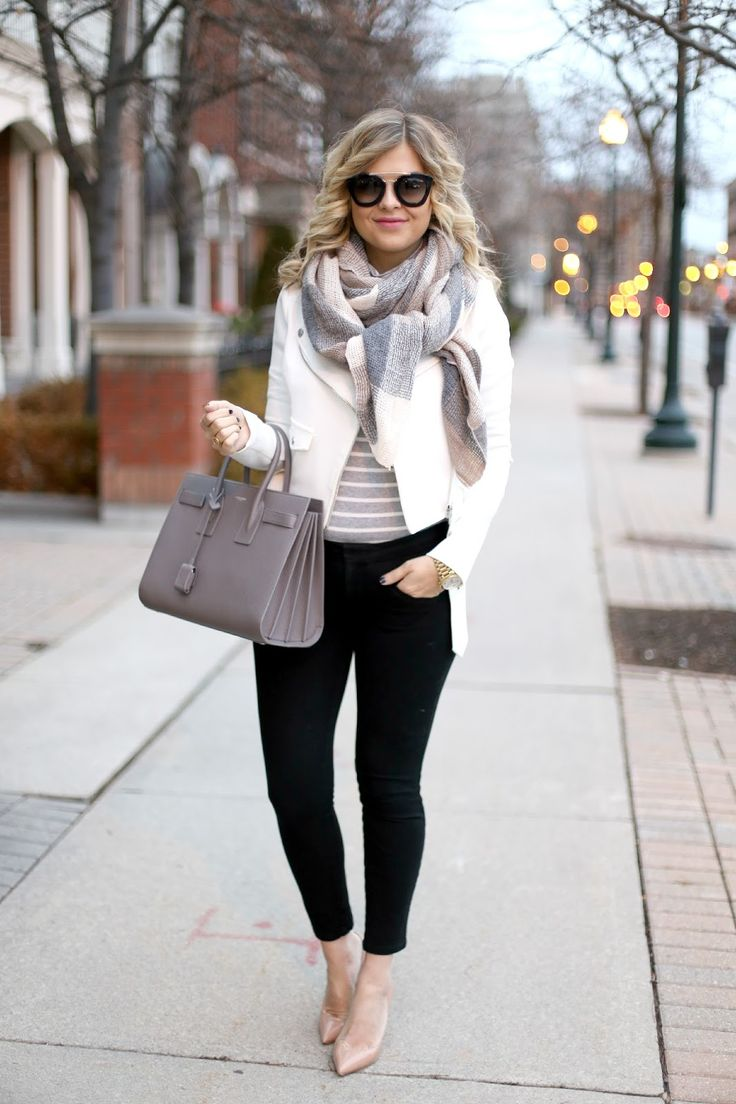 Picture Of chic layered outfits for work  8