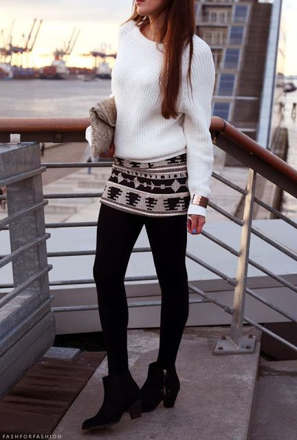 Picture Of chic winter date night outfits for girls  10