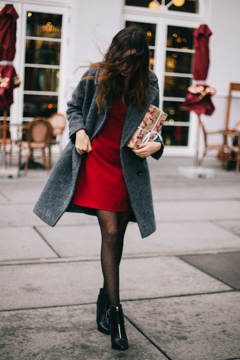 Picture Of chic winter date night outfits for girls  3