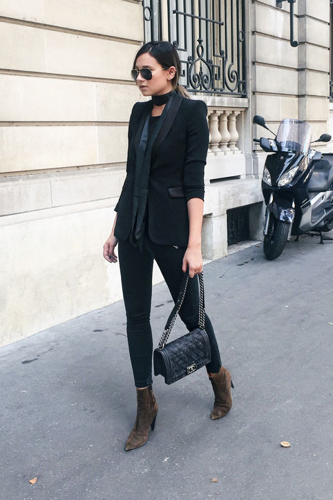Picture Of chic winter date night outfits for girls  4