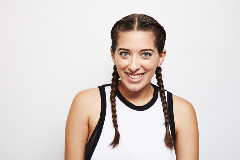 Picture Of easy diy double dutch braids for a better workout  1