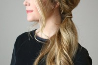 easy-diy-double-fishtail-side-ponytail-1