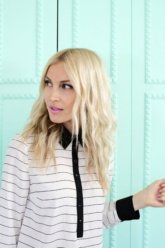 Picture Of how to create soft waves with just a hair dryer  2