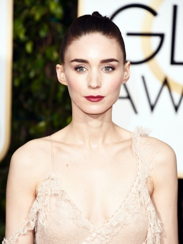 Picture Of how to recreate gorgeous rooney maras braided ponytail at golden globes  2