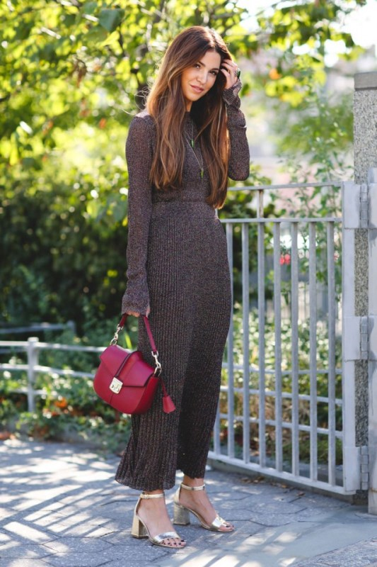 Picture Of how to wear double knits right 11 trendy and cool ideas to recreate  10