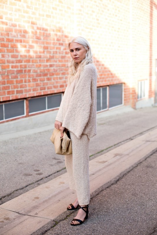 How To Wear Double Knits Right: 11 Trendy And Cool Ideas To Recreate