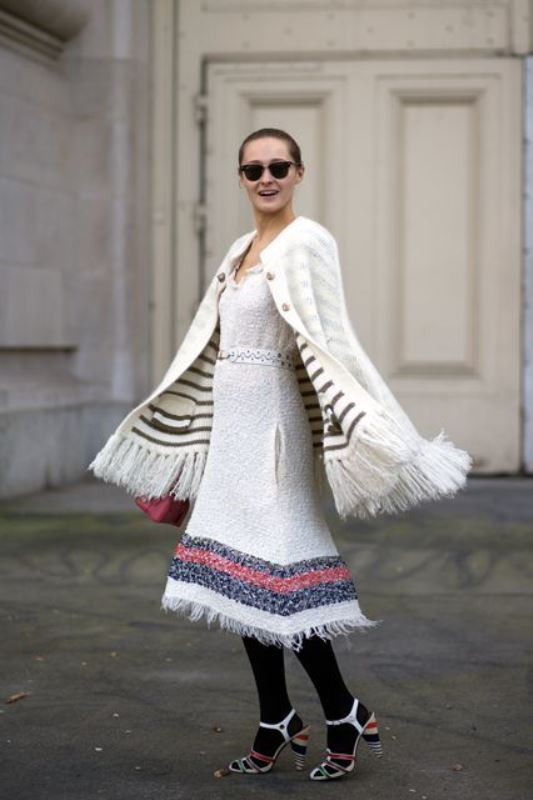 Picture Of how to wear double knits right 11 trendy and cool ideas to recreate  9