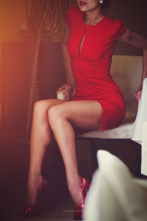 Sexy Little Red Dresses For Valentine's Day