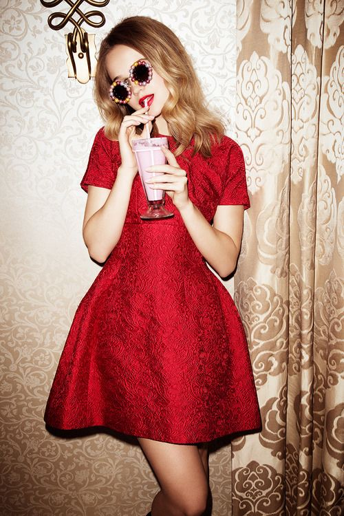 30 Sexy Little Red Dresses For Valentine's Day