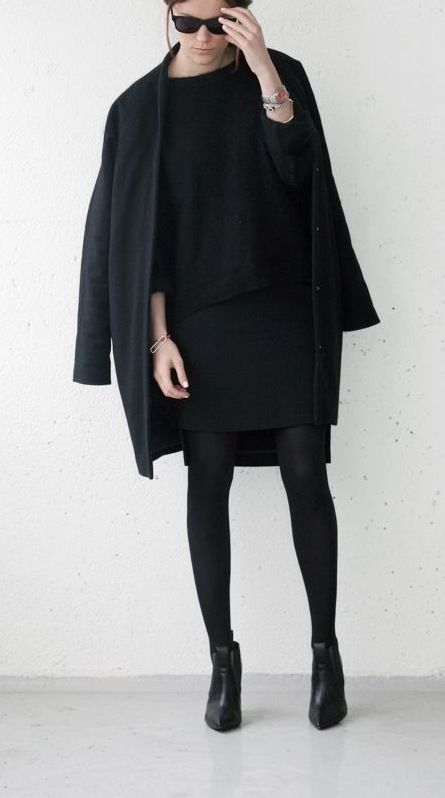 Picture Of stylish monochromatic work outfits to try  3