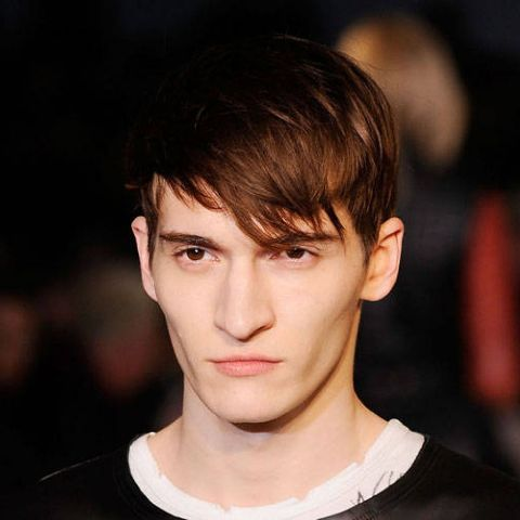 Picture Of Angular Fringe Hairstyle Ideas For Men 11