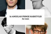 16 Angular Fringe Hairstyle Ideas For Men 17