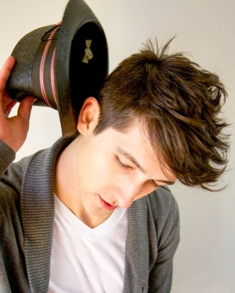 Picture Of Angular Fringe Hairstyle Ideas For Men 8