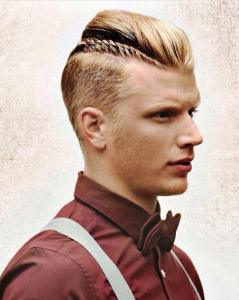 Delightful Cool Shaved Side Hairstyles For Men