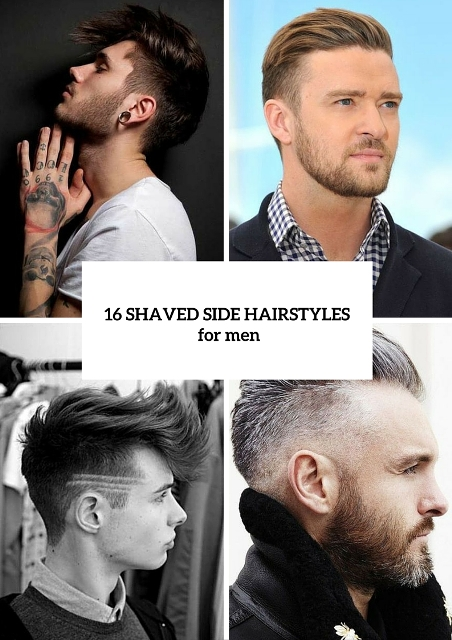 16 Cool Shaved Side Hairstyles For Men