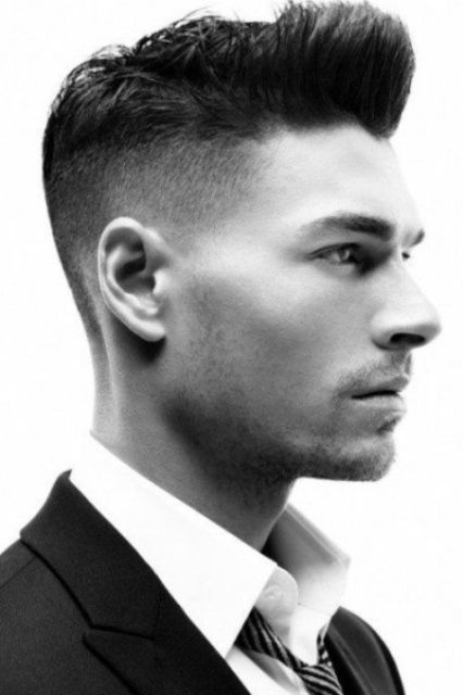 Picture Of Cool Shaved Side Hairstyles For Men 6