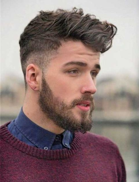 Picture Of Cool Shaved Side Hairstyles For Men 7