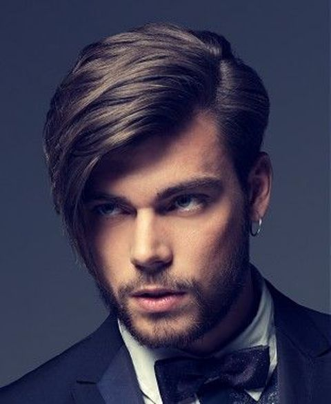 Picture Of Fabulous Medium Length Hairstyles For Men 15