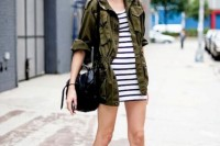 16 Green Army Jacket Outfits For Stylish Girls13