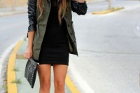 16 Green Army Jacket Outfits For Stylish Girls14