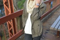 16 Green Army Jacket Outfits For Stylish Girls16