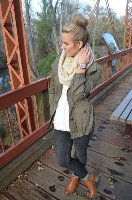 16 green army jacket outfits for stylish girls  styleoholic