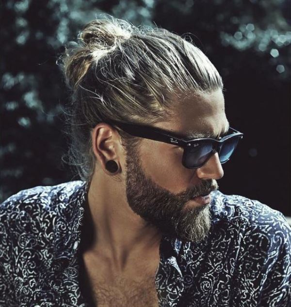 Picture Of sexiest ways to pull off a man bun  10