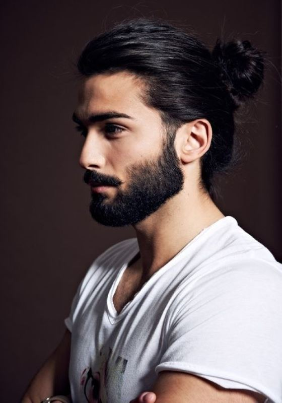 Picture Of sexiest ways to pull off a man bun  13