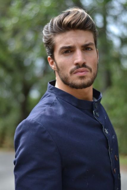 Picture Of Stylish Pompadour Hairstyle Ideas For Men 7