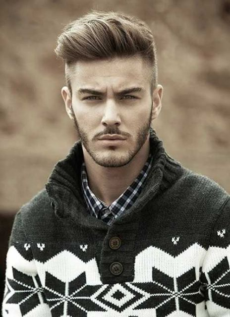 Picture Of Stylish Pompadour Hairstyle Ideas For Men 9