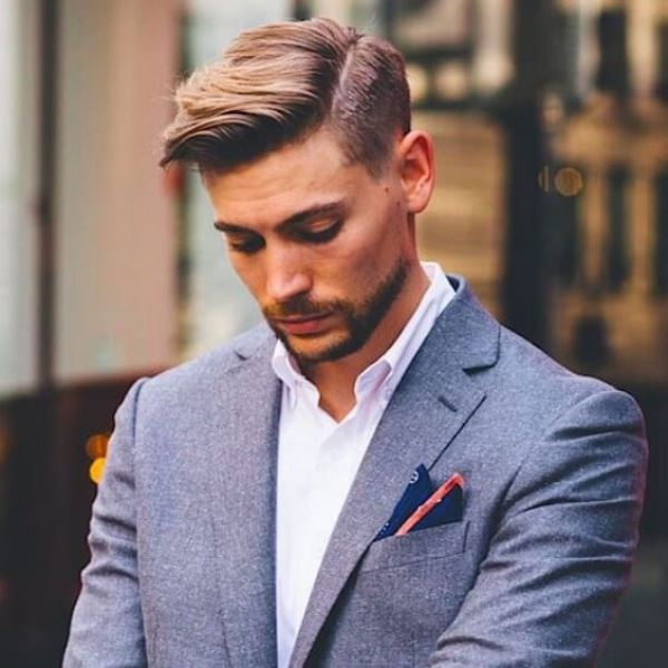 Timelessly Elegant Yet Hot Side Part Hairstyles For Men