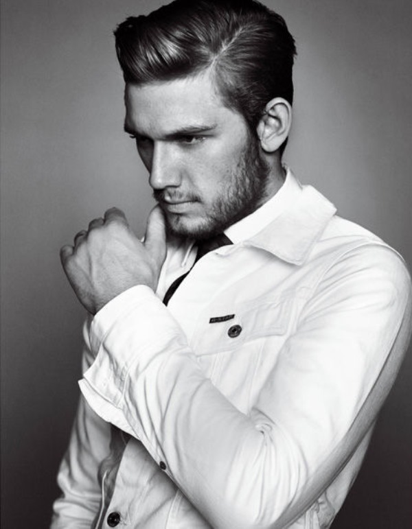 Picture Of timelessly elegant yet hot side part hairstyles for men  4