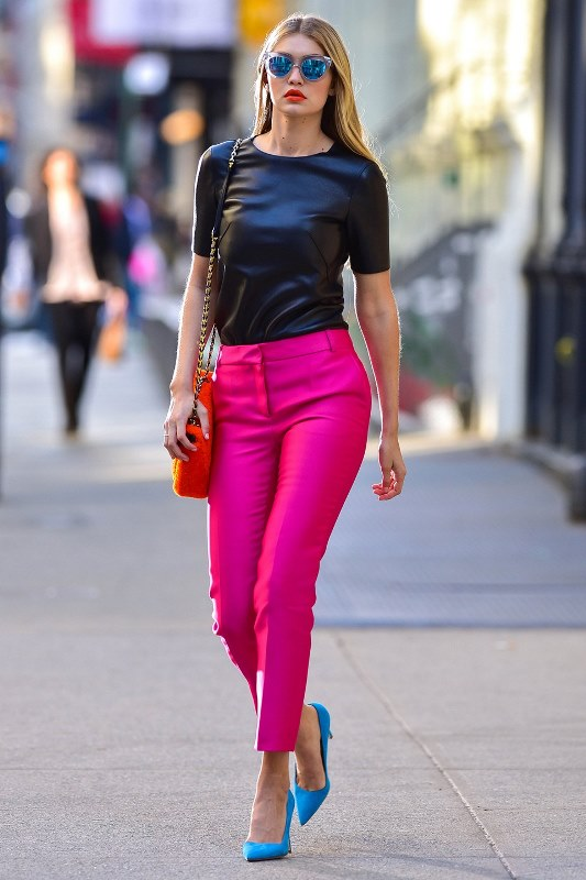 Picture Of looks that will make you want to wear colored pants this spring  1