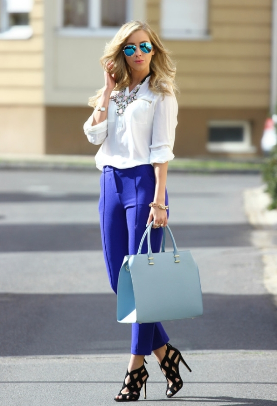 Picture Of looks that will make you want to wear colored pants this spring  12