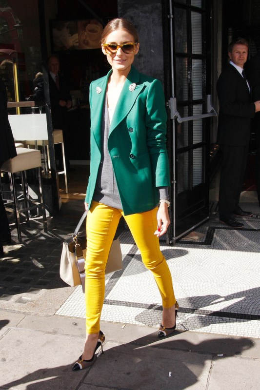 Looks That Will Make You Want To Wear Colored Pants This Spring