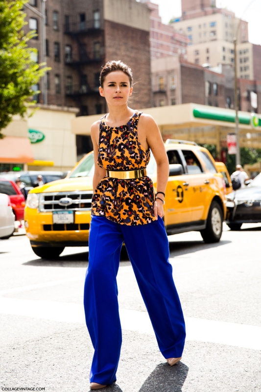 Picture Of looks that will make you want to wear colored pants this spring  6