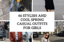 46 stylish and cute spring casual outfits for girls cover