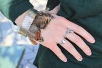 Excellent DIY Feather Bracelets